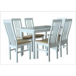 Комплект Стол ТИС-2 + Стул столовый Том-6 (6 шт) (под заказ)