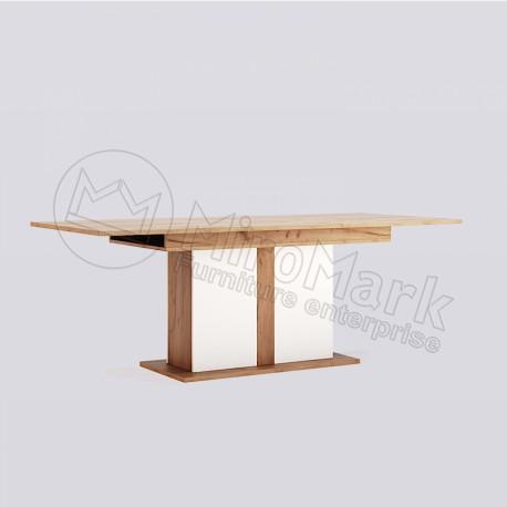 Гостиная Асти Стол столовый раздвижной трансформер 1500x900