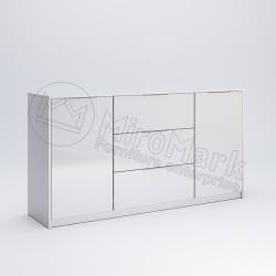 Гостиная Рома белый глянец Комод 1,6 м