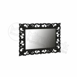 Зеркало Pionia 1200*1000 черное