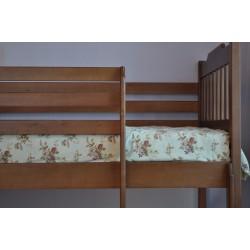 """Кровать """"Ева"""" с перегородкой"""