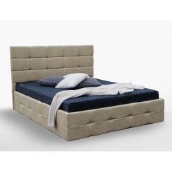 Мягкая кровать Бристоль 1,6х2,0, подъемная с каркасом