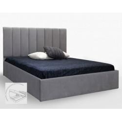 Мягкая кровать Диана 1,6х2,0 Подъемная с каркасом