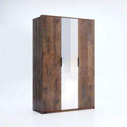 Шкаф 3Д (зеркало) Квадро / Quadro