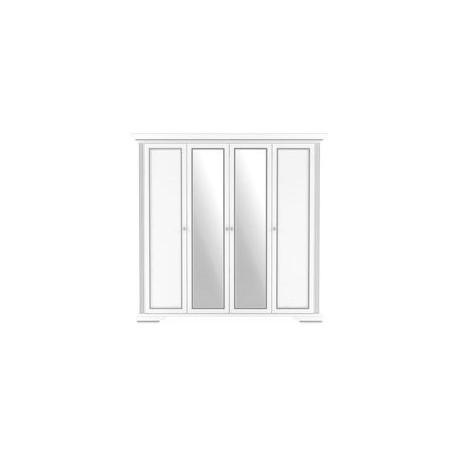 Шкаф 4D(2S) ВАЙТ