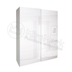 Спальня Империя белый глянец Шкаф-купе 2,0 м