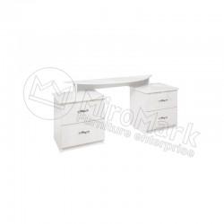 Спальня Прованс белый глянец Туалетный столик 4Ш