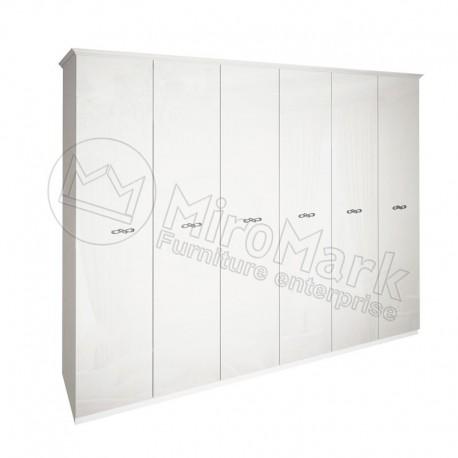 Прованс Шкаф 6Д без зеркал