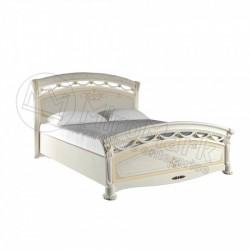 Спальня Роселла кровать Люкс 1,60*2,00 (без каркаса0 радика беж