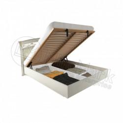 Спальня Роселла кровать 1,60*2,00 подъемная мягкая спинка с каркасом радика беж