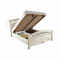 Спальня Роселла кровать 1,60*2,00 подъемная Люкс с каркасом радика беж
