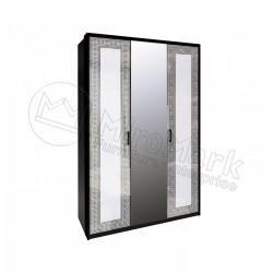Спальня Виола Шкаф 3Д с зеркалами