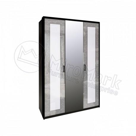 Виола Шкаф 3Д с зеркалами