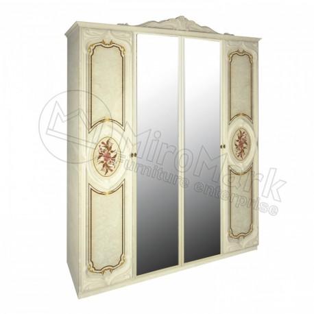 Реджина шкаф 4ДВ с зеркалами