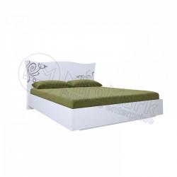 Спальня Богема белый глянец Кровать 1,80*2,00 без каркаса
