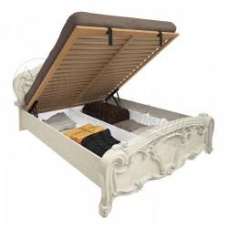 Спальня Олимпия радика беж Кровать 1,60*2,00 с подъемным механизмом