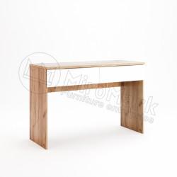 Спальня Asti дуб крафт-глянец белый Туалетный столик 2Ш
