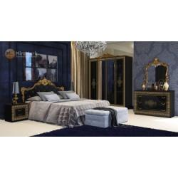 Спальня Дженифер черный глянец