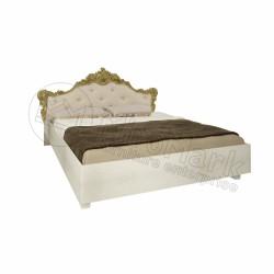 Спальня Дженифер радика беж  Кровать 1,80х2,00 мягкая спинка без каркаса