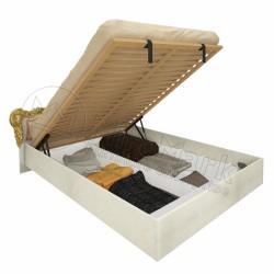 Спальня Дженифер радика беж Кровать 1,60х2,00  с подъемным механизмом