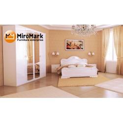 Спальня Футура белый глянец