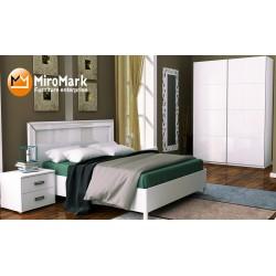 Спальня Белла глянец белый