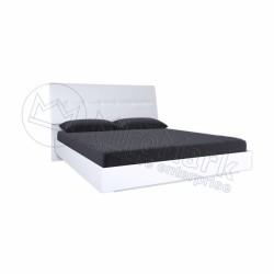 Спальня Рома белый глянец Кровать 1,60*2,00  без каркаса мягкая спинка