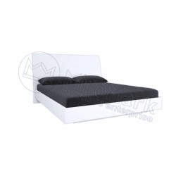 Спальня Рома белый глянец Кровать 1,60*2,00  без каркаса