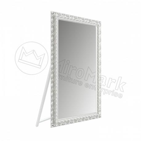 Зеркало с подставкой Mirage белое