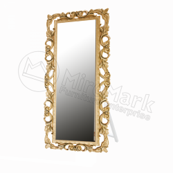 Зеркало с подставкой Lara золото