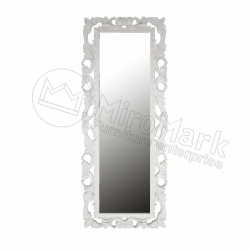 Зеркало Lara белое